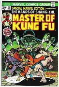Special Marvel Edition 15 Vf+ 8.5 First App Shang-chi Bronze Age Marvel