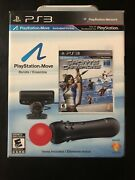 Ps3 Playstation Move Bundle Sports Champions New Opened Box Item