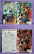 Brad Meltzer Justice League Of America 0 - 12 110 Variant Covers Dc, 2006