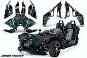 Roadster Graphics Full Kit Decal For Polaris Slingshot 2015-2019 Zombie Troop K