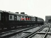 Photo Pullman Cars Nos 61 And 75 Departing Waterloo As Part Of The Consist Of The