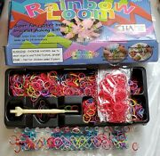 Rainbow Loom Rubber Bands Bracelet Making Kit. With Unopened Packages