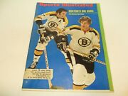 Vintage Sports Illustrated May 8th 1972 Boston Bruins Bobby Orr Phil Esposito