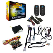 Remote Start Kit With Keyless Entry For 2015-2019 Toyota Yaris H-key - T-harness