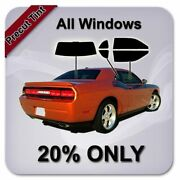 Precut All Window Tint For Chevy 3500 Standard Cab 2014-2018 20 Only