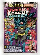 Justice League Of America 48 G 29 80 Page Giant, Nm- 9.2 Free Shipping