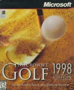 Ms Golf 1998 Pc Cd Classic Photo-realistic Sports Golfing, Putting, Swing Game