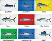Taylor Made Products 1944 Carey Chen King Mackerel 50 Flag 36 X 60-inch