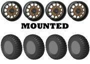 Kit 4 Sti Chicane Rx Tires 32x10-15 On System 3 St-5 Bronze Wheels Can