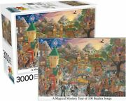 New Aquarius Jigsaw Puzzles Deluxe 3000 Pce Puzzle Beatles Magical Mystery Tour