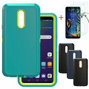 For Lg K40/solo 4g Lte/harmony 3 Case W/stand Belt Clip Fit Otterbox Defender