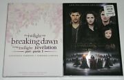 Horror Dvd Lot - The Twilight Saga Breaking Dawn Part 1 Extended And Part 2 New