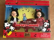 Kelly And Tommy Disney Mickey And Minnie Mouse New Doll 2002 Mattel Barbie Sister