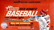 2016 Topps Heritage High Number Baseball Hobby 12 Box Case Blowout Cards