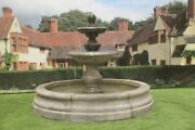 2 Tiered Regis Fountain Small Romford Pool Surround Stone Garden Water Feature