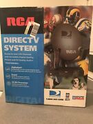 Rca Direct Tv Complete Satellite System Ds4221re Dish, Remote, Receiver New