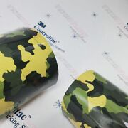 3m Vinyl Gloss / Matte Armored Army Camo Car Wrap 54in X 40ft