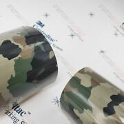 3m Vinyl Gloss / Matte Classic Army Life Camo Car Wrap 54in X 50ft