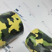 3m Vinyl Gloss / Matte Armored Army Camo Car Wrap 54in X 60ft