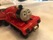 Thomas The Train James Red Engine With 5 Tender Car