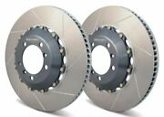 Girodisc Front 2pcs Rotors For Porsche Gt3 Gt2 997.1 W/ Pccb W/ Center Locks