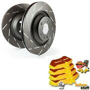 Ebc B12 Brake Kit Front Pads Washers For Audi A8 4d2, 4d8