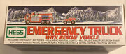 Hess 2005 Emergency Fire Truck With Rescue Vehicle New Never Opened W/ Mint Box