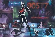 Warner Brothers Batman Beyond Lithograph Limited Edition Animation Art Signed