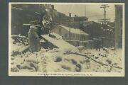 Norwich New York Rppc 1911 Fire Ruins Disaster Main Streetnr Cooperstown Oneonta
