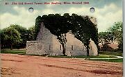Old Round Tower Fort Snelling St. Paul Mn Vintage Postcard Gg1-033