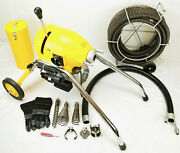Bluerock ® Tools Sds200 2 - 8 Sectional Pipe Drain Cleaning Machine Snake