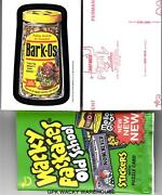 Topps Wacky Packages Old School 4 Complete Red Ludlow Back Set 33 Sticker Cards