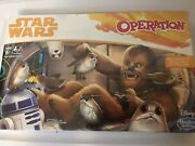 New Star Wars Operation Game Star Wars Chewbacca Edition Sealed
