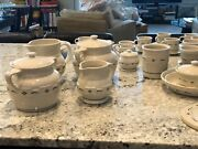 Longaberger Pottery Green Woven Traditions Pieces Mint D/c Products