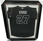 Mike Trout Signed Autographed Black Kiiiiid Authentic Game Jersey Framed Mlb