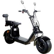 Mototec - Knockout 60v 2000w Lithium Electric Scooter 60 Mile Range 25 Mph