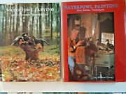 Lot 2 Waterfowl Books William Veasey Blue Ribbon Carving 1982 And Painting 198