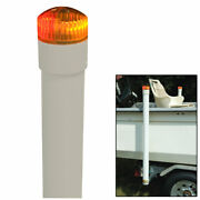 Ce Smith Boat Trailer 40 Inch Post Guide Ons With Led Lights Pair Of 2 Posts
