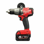 [milwaukee] Rechargeable Hammer Drill Driver - M18 Fpd-502c