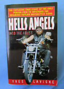 Hells Angels Into The Abyss Yves Lavigne Motorcycle Book Outlaw M/c Club 1996