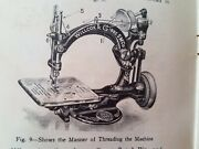 Willcox And Gibbs Automatic Sewing Machine Manual Use Attachments 48pg Post-1943
