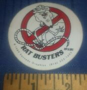 Vtg Union Ironworkers Sticker Ratbusters Shipping Included