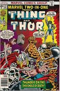 Marvel Two In One 4, 6, 9, 10, 22 Thing 1974 Avg Vf/nm Fantastic Four Thor