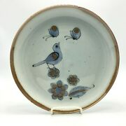Ken Edwards Mexican Tonala Pottery Stoneware - 10 Dinner Plate - Signed