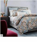 New Cassie Anitra Queen Size Duvet Cover And Two Standard Shams
