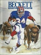 Thurman Thomas Collectors Lot Beckett Dec, 1992 Issue Elway On Back+ Many Photos