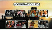 Gb 2020 Coronation Street Character Stamp Set On Card