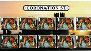 Gb 2020 Coronation Street Character Stamp Set Jack And Vera On Card