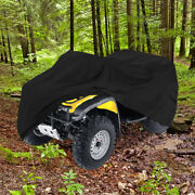Universal All Terrain Vehicle Black Storage Covers Atv Cover 4x4 Weather Proof