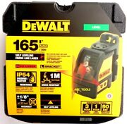 New Dewalt Dw088k Red Cross Line Laser Self Leveling 165and039 Horizontal And Vertical